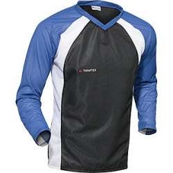 Trimtex Basic TRX OL-Shirt LS blau/schwarz/weiß