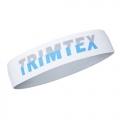 Trimtex Stirnband weiß/grau/blau