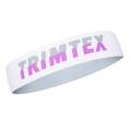 Trimtex Stirnband weiß/grau/lila