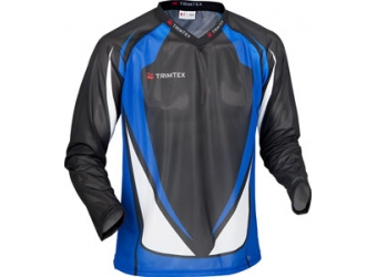 Trimtex Basic OL-Shirt LS schwarz/blau/weiß