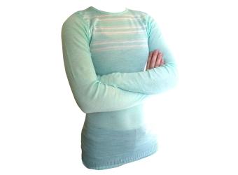 Helly Hansen Base Layer Shirt minze/weiß