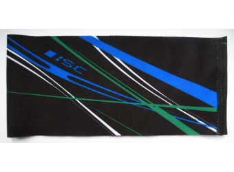 ISC Stirnband schwarz/blau/grün