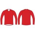 ISC Mick OL-Shirt rot