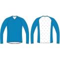 ISC Rebel OL-Shirt blau/weiß