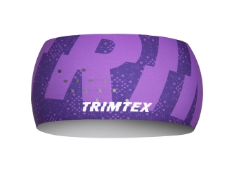 Trimtex Bi-elastic Air Stirnband Dark Orchid