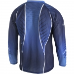 Trimtex Basic OL-Shirt LS Midnight Blue / Azure Blue