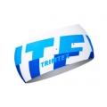 Trimtex Bi-elastic Air Stirnband weiß / azurblau