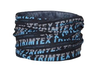 Trimtex Neck Black / Grey / Azure Blue
