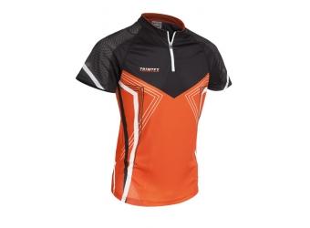 Trimtex Speed OL-Shirt orange/schwarz/weiß