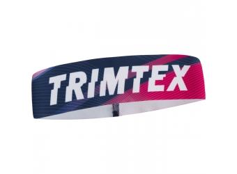 Trimtex Speed Stirnband Midnight Blue / Hot Pink S
