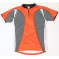 Trimtex Extreme Kinder OL-Shirt orange/grau
