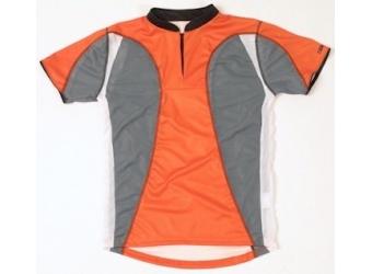 Trimtex Extreme Kinder OL-Shirt orange/grau