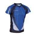 Trimtex Basic Mesh OL-Shirt blau/schwarz/weiß