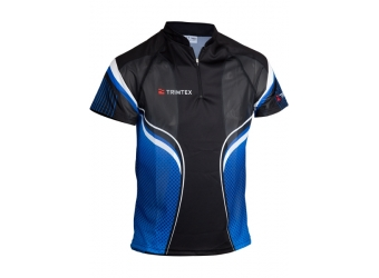 Trimtex Extreme OL-Shirt schwarz/blau