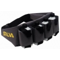 Silva Running Drinking Belt with 4 bottles, screw top closure