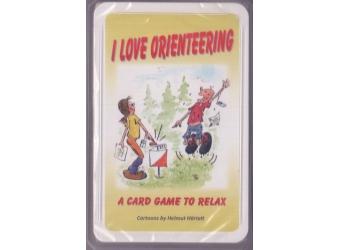 Orientierungslauf Kartenspiel