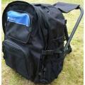 ISC Sitzrucksack 40L Schwarz/Blau