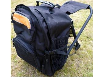 ISC Sitzrucksack 40L Schwarz/Orange