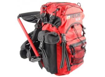 OL-Tech 1030 Sitzrucksack schwarz/rot 30 Liter
