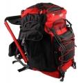 OL-Tech 1055 Sitzrucksack schwarz/rot 55 Liter