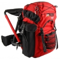 OL-Tech 1040 Chair Rucksack 40L Black/red