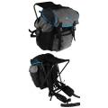 OL-Tech A45 Sitzrucksack schwarz/grau/blau 45 Liter