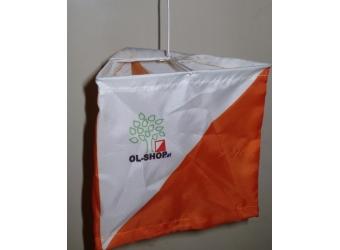 OL-Shop Postenschirm 15x15cm Set (10 Stück)