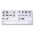 OL-Kontrollkarten, Tiere, 50 Stück